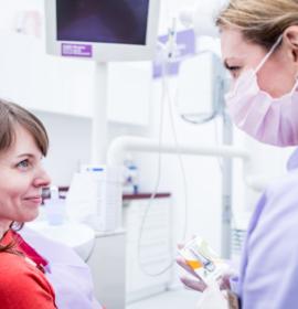 Ультразвуковая чистка зубов: before